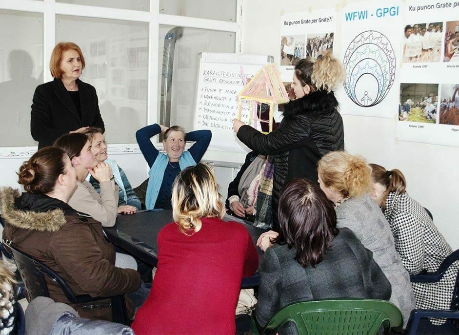 women for women international members of Kosovo