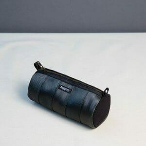 Black essentials tube pouch