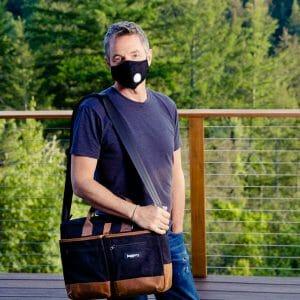 man with bag