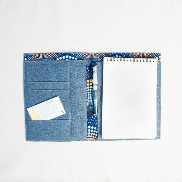 open blue portfolio