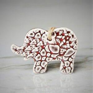 PbP ORN05 Ceramic Elephant US