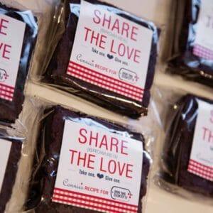 Brownies in package