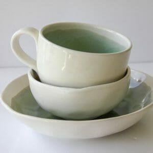 Artisan Bowl Set Stacked